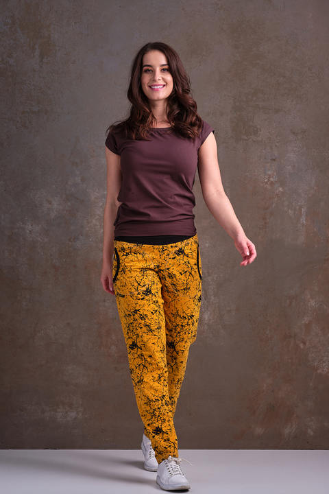 Pants Mustard/Black Neuron 2