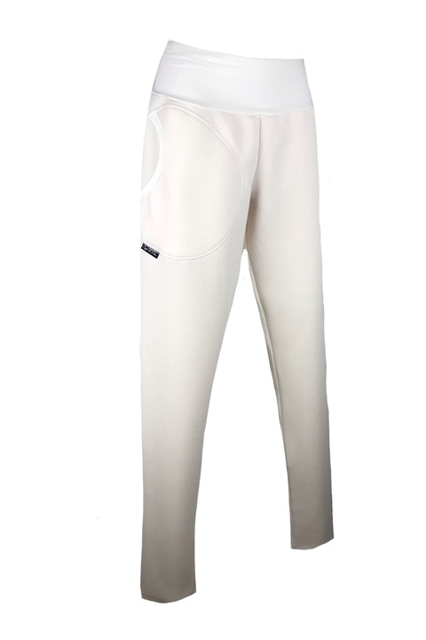 Pants Warm Long Cream-sleva