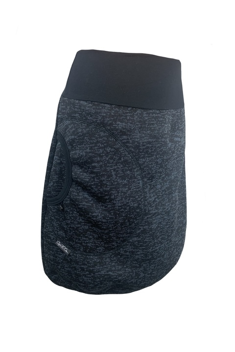 Skirt Warm Black/Gray