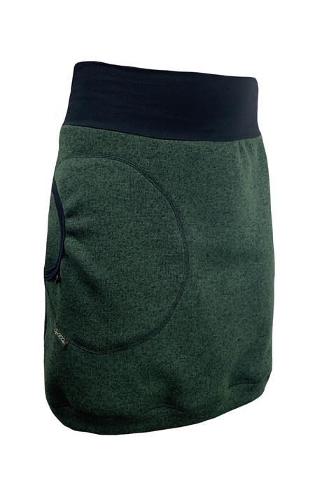 Skirt Warm Bottle Green