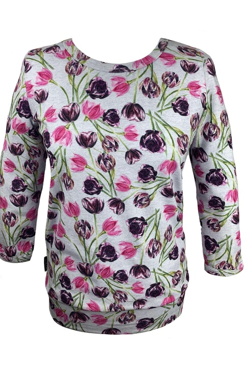 T-shirt 3/4 Sleeve Tulip