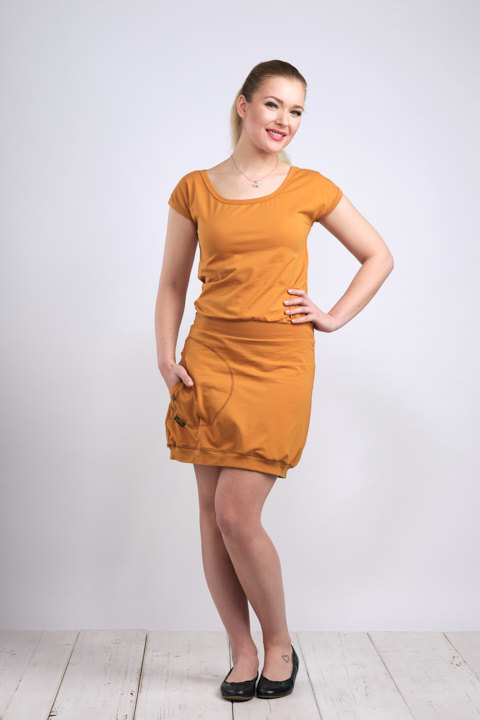 Dress Bali Dark Mustard