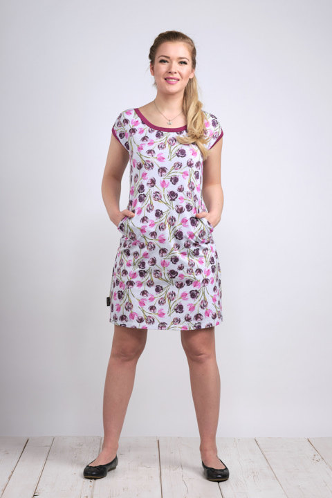 Dress Madeira Tulip and Fuchsia