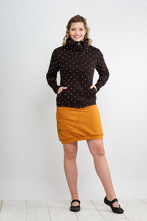 Skirt Carri Dark Mustard