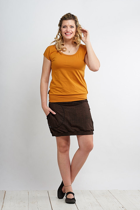 Skirt Carri Chocolate Structure