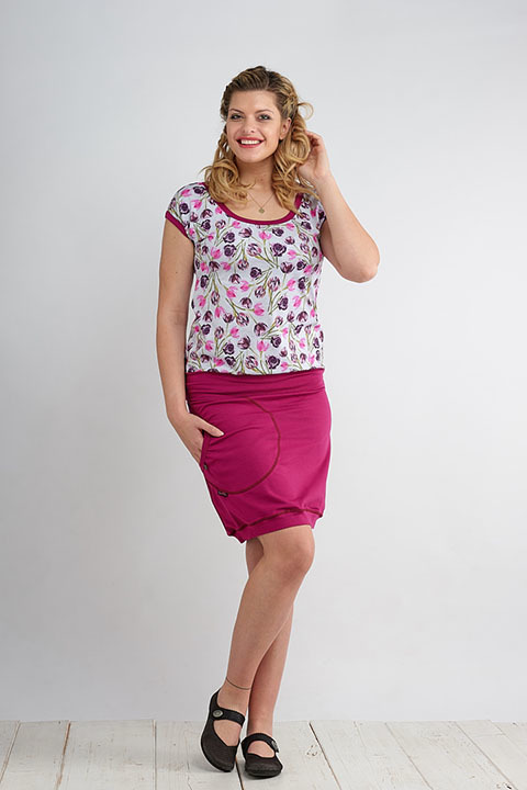 Skirt Carri Fuchsia