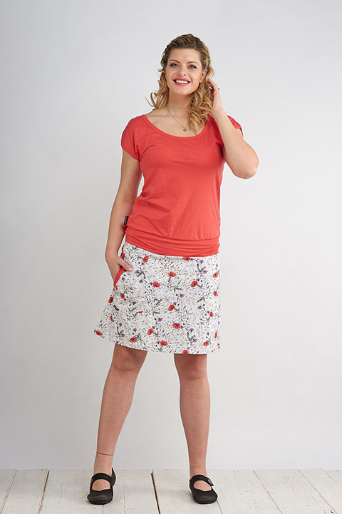 Skirt Bell Florets and Salmon