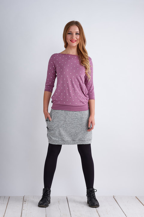 Skirt Warm Light Gray