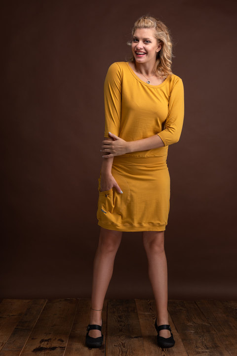 Dress Sleeve Mustard