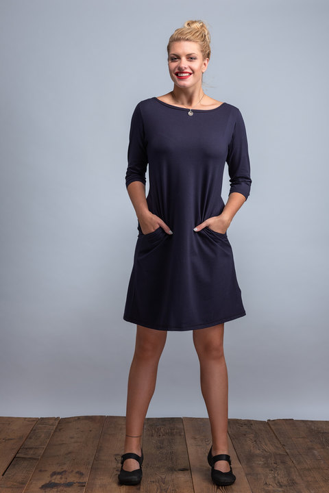 Dress Madeira Dark Blue