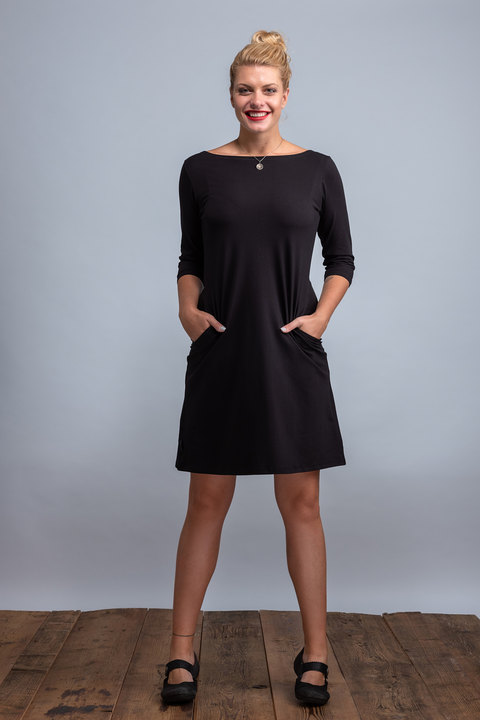Dress Madeira Black