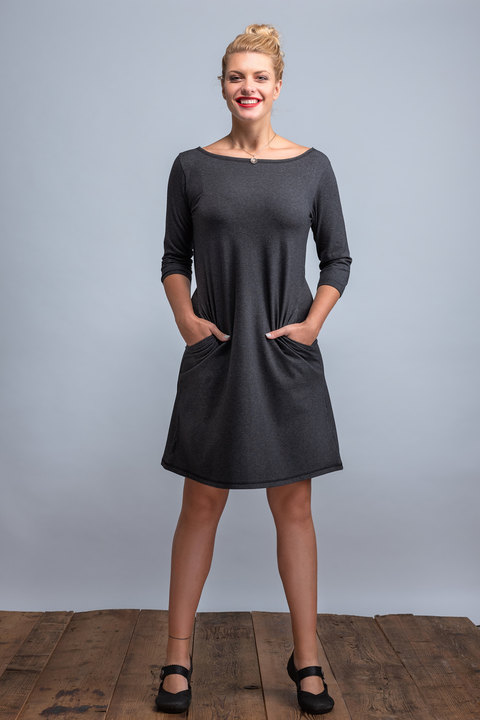 Dress Madeira Graphite Melange