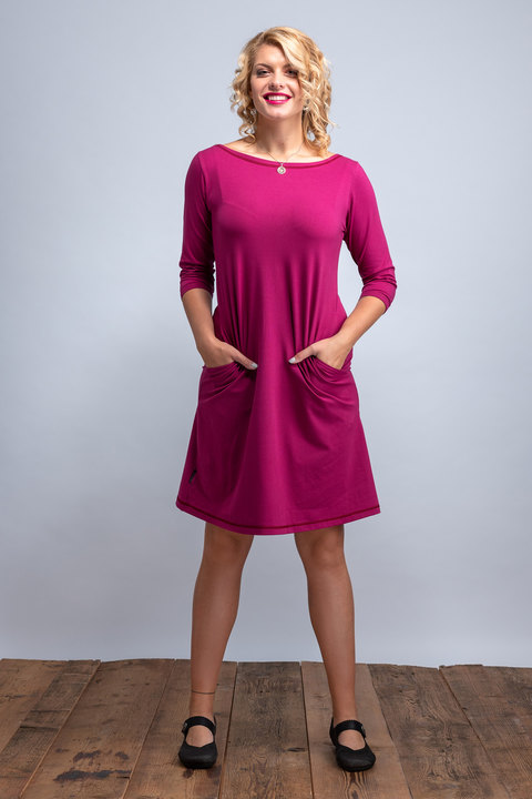 Dress Madeira Fuchsia