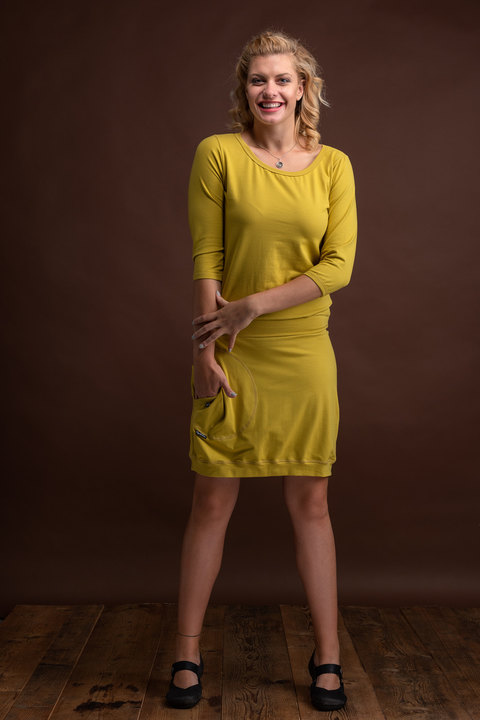 Dress Sleeve Lemon Curry