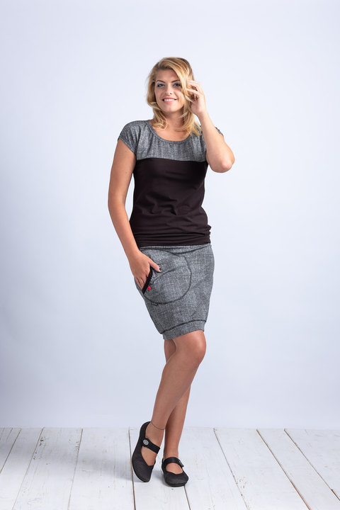 Skirt Gray/Black Structure