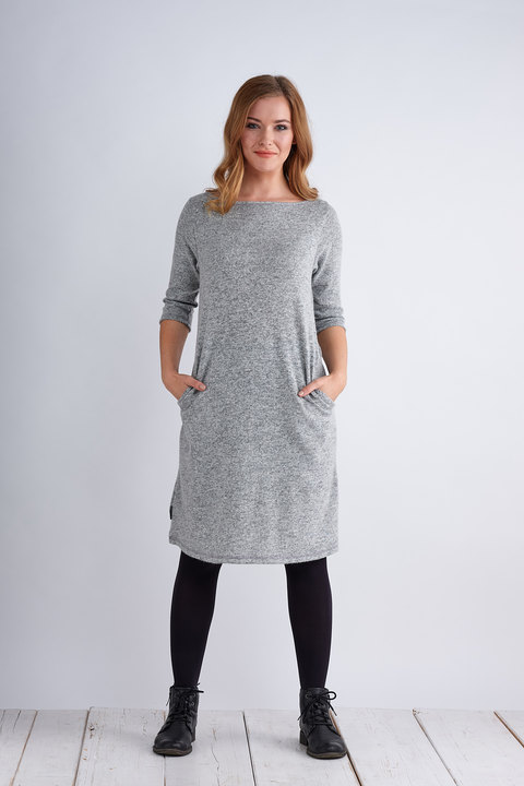Dress Madeira Warm Light Gray
