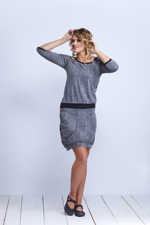 Dress Sleeve Black/Gray Structure