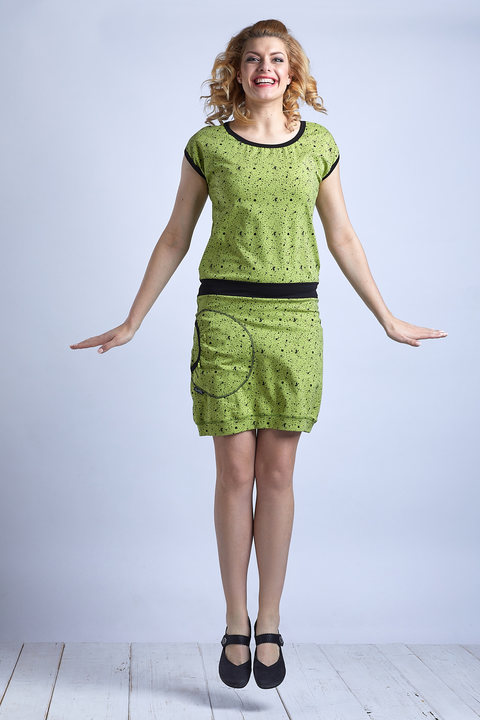 Dress Green/Black Spatter